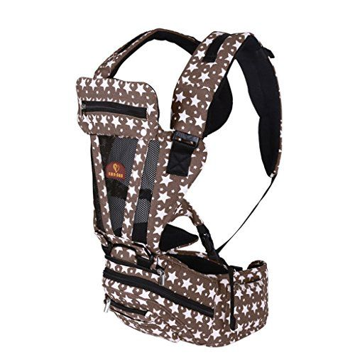 SouqFone Multifunction Breathable Baby Toddler Hip Seat Front Carrier Belt Sling Strap Infant Printed Backpack Brown >> CHECK OUT MORE DETAILS  @: http://www.best-outdoorgear.com/souqfone-multifunction-breathable-baby-toddler-hip-seat-front-carrier-belt-sling-strap-infant-printed-backpack-brown/