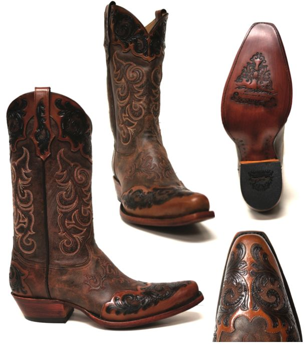 Tony Lama Bourbon Bomber Boot -- The ultimate men's cowboy boot for Fall.  | www.southtexastack.com