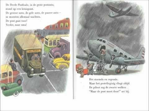 zeven postbodes (digitaal prentenboek)
