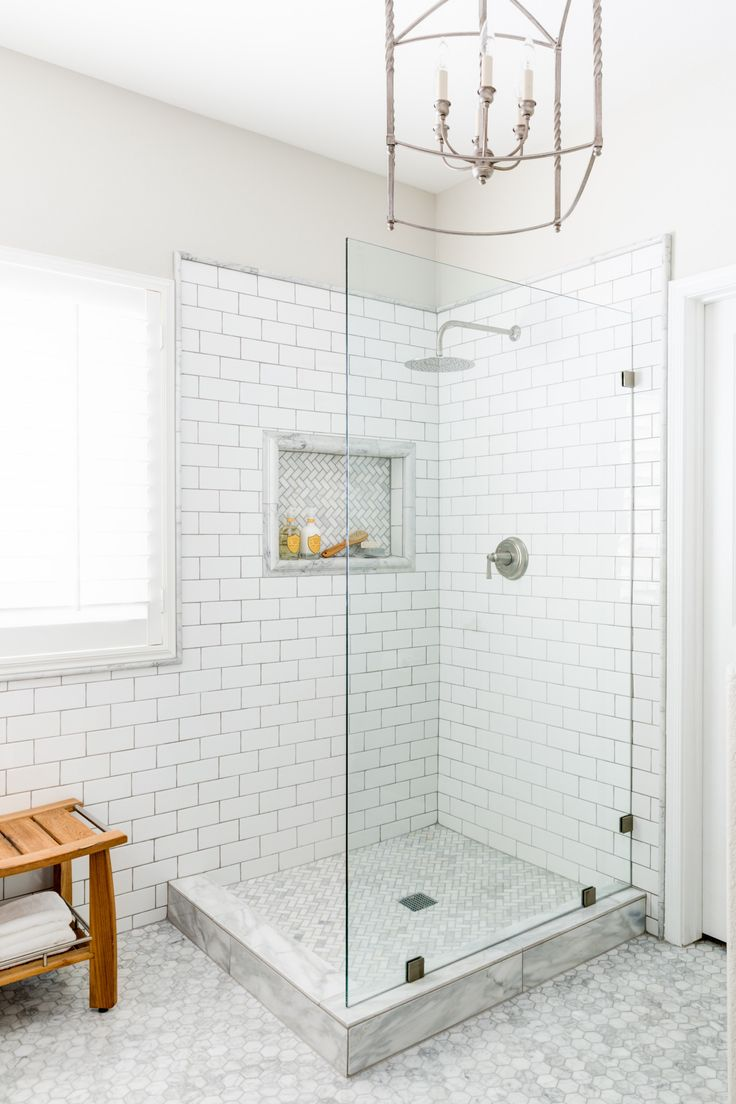 Lexi Westergard Design | Vermont Remodel Master Bathroom | Shower | Marble | Subway Tile