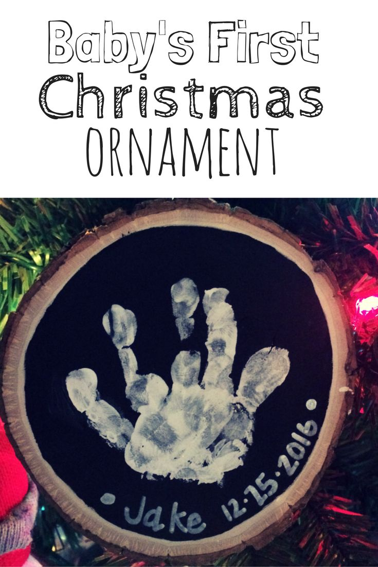 First christmas ornament baby - Diy Baby S First Christmas Ornament