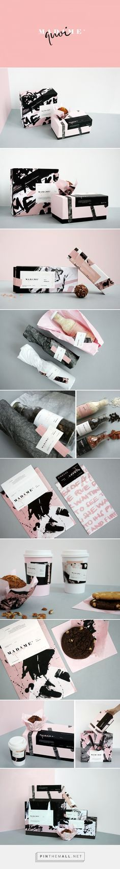 Madame Quoi / Branding and packaging for a gourmet bakery inspired by the…