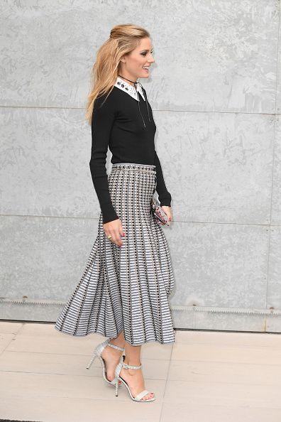 Olivia Palermo at Milan Fashion Week I