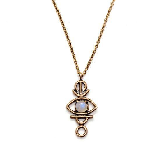 Collier de Sulis / / Pierre de lune, lapis, jaspe rouge, ou turquoise