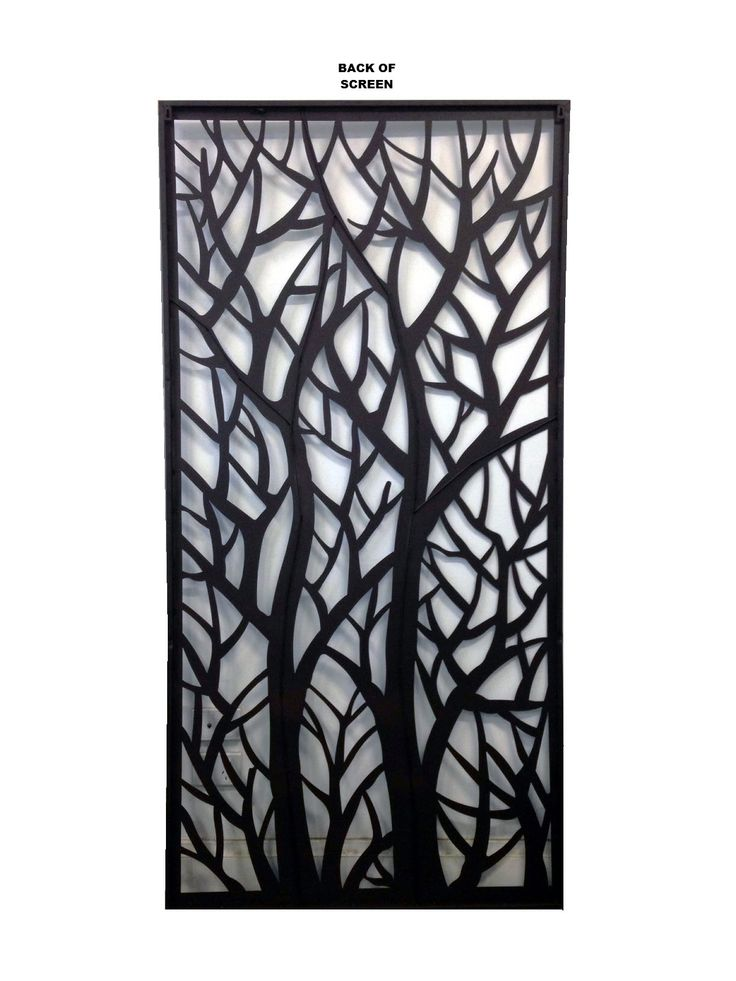 Deco Metal Screens Wall Art Garden Screens Autumn