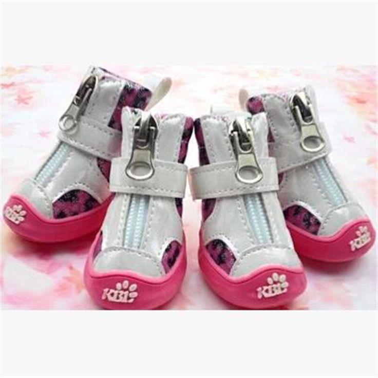 >> Click to Buy << Pet Dog Shoes Summer Mesh Supplies Botas De Agua Sandals Durable Goods Puppy Stripe Dog Shoes   Non-slip Breathable Boots QQM839 #Affiliate