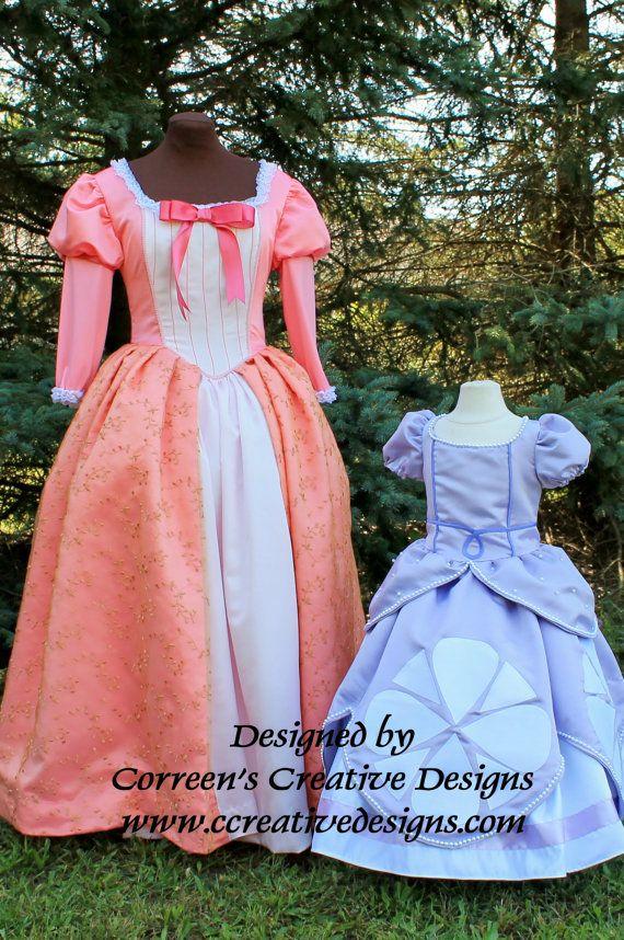 Queen Miranda Costume, Ladies Costumes, Custom Made to fit costume, Queen Miranda Adult Costume, Sofia the First Family Costumes
