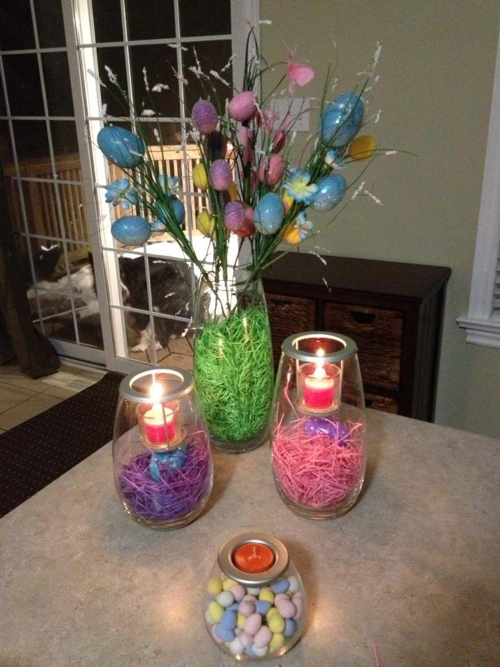 Easter Decorating Idea From Partylite Partylite Pinterest Decorating Ideas The O 39 Jays And