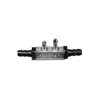 Μale Fuel Line Tank Connector w/ 10mm Barb, Double