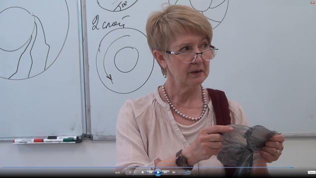 """ВидеоМК Ирины Спасской """"Дамская шляпка на шаблоне берета. Технология однослойных…"""