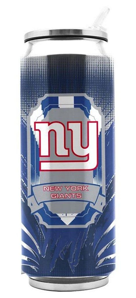 New York Giants Thermo Can Stainless Steel 16.9oz