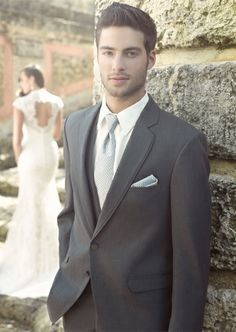 1000  images about Mens Wear on Pinterest | Grey, Suits and Groom