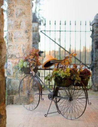 mariage en automne mariage With idee decoration jardin exterieur 9 mon mariage 224 bicyclette comment le mettre en scane