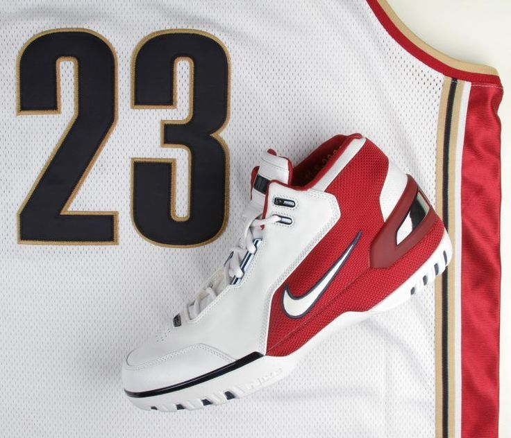 """If the seven-year, $90 million endorsement contract weren't a good enough hint, the initial name of LeBron James' first Nike sneaker – 2003's Air Zoom Generation – was at its core a declaration.  """"We think he's the athlete that will define the next generation,"""" a Nike spokesman said more than 13 years"""