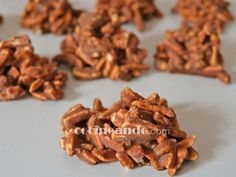 Receta de rocas de chocolate y almendra (bombones caseros) - Cocineando