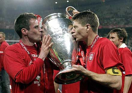 liverpool 2005 champions league winners squad where are they now gerrard http