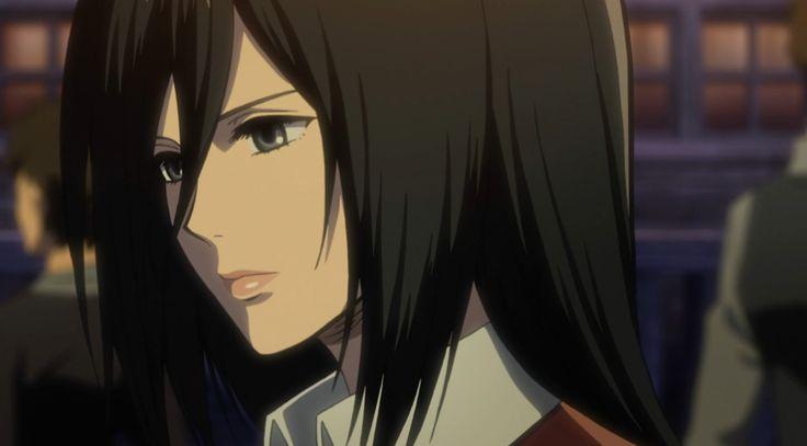 Mikasa Ackerman (ミカサ・アッカーマン Mikasa Akkāman) jest główną bohaterką serii i przyszywaną siostrą Erena. Była członkini 104. Oddziału Kadetów obecnie należąca do Korpusu Zwiadowczego.
