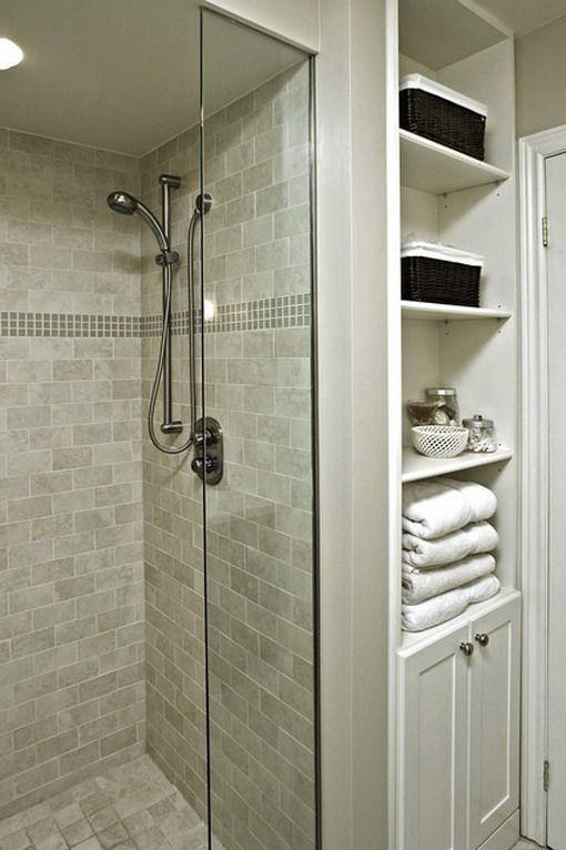 Oplossing kleine badkamer