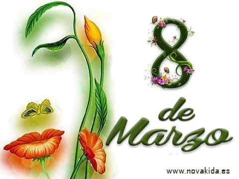 Postal, Día de la Mujer: 8 de marzo