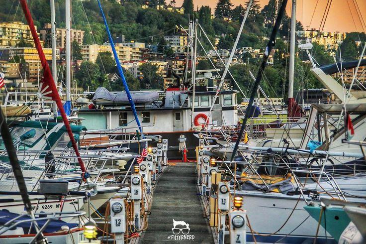 Marina sunrise from Eastlake #Seattle Washington! #FilterNerd