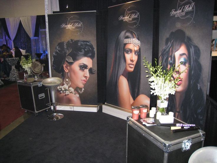 Expo Stands Eyeshadow : Best images about bridal show booth design ideas on