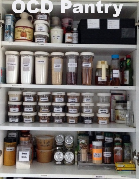 My O C D Kitchen Cabinet With Ikea Containers