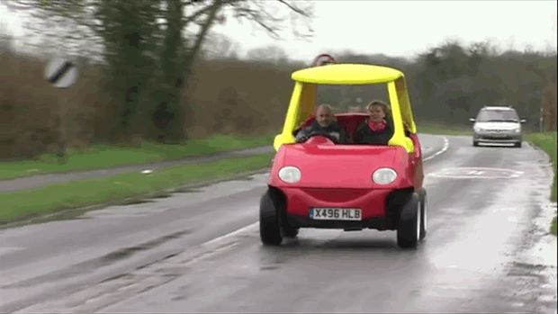 Vroom! - Adult-Sized Little Tikes-Inspired Car Now For Sale | Mental Floss