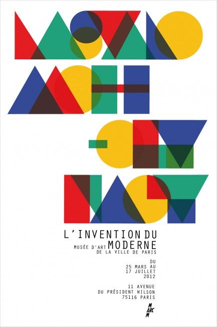 Moholy-Nagy exhibit poster