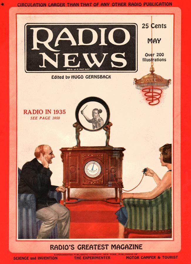 Radio News 1925-05 | 1920s Magazines Ads Illustrations ...