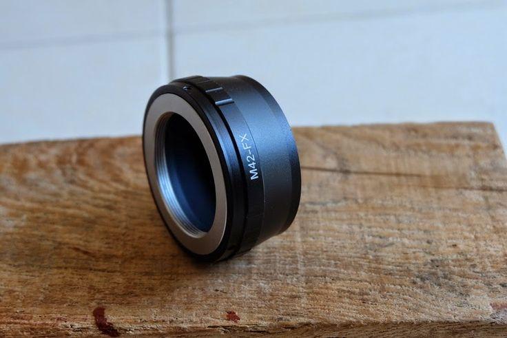 Lamo Lamo: Adapter lensa M42-FX lensa M42 ke body Fujifilm seri X