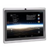 7-inch Capacitive Touch Screen Android 4.0 Tablet PC with Allwinner A13 1.0GHz 512MB/4GB WiFi Front-camera (White)