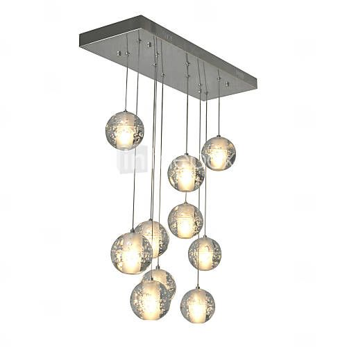3watt Anheng Lys , Moderne / Nutidig Krom Trekk for Krystall Metall Stue / Soverom / Spisestue 5233860 2016 – kr.2.838