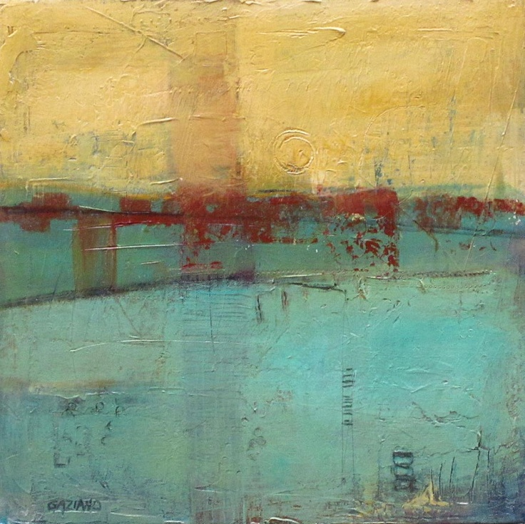 997 best 10 encaustic and oil and cold wax paintings for Wax landscape