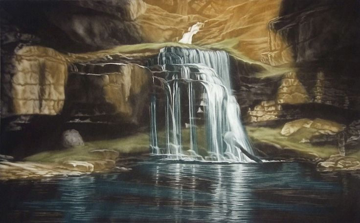 Susan Jameson - Waterfall