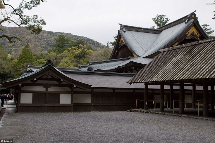 The Ise Grand Shrine in Japan is only accessible by a priest or priestess who must also be...