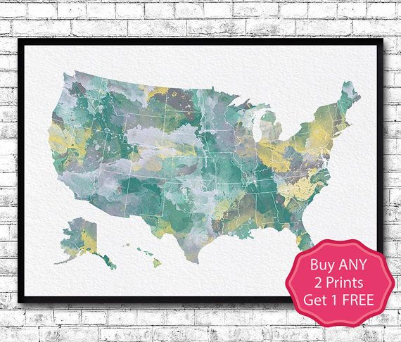 Best Map Skyline ArtDecor Images On Pinterest Cities - Usa map buy