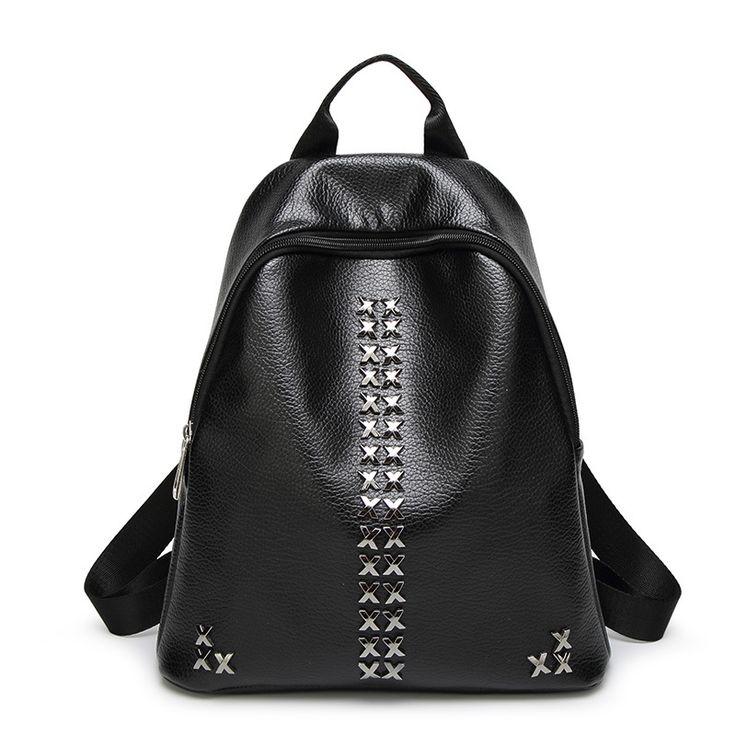 $25.84 (Buy here: https://alitems.com/g/1e8d114494ebda23ff8b16525dc3e8/?i=5&ulp=https%3A%2F%2Fwww.aliexpress.com%2Fitem%2FINLEELA-2016-School-Season-Best-Backpack-Fashion-Rivet-Women-Shoulder-Bag-High-Quality-Girls-School-Bag%2F32714563662.html ) INLEELA 2016 School Season Best Backpack Fashion Rivet Women Shoulder Bag High Quality Girls School Bag for just $25.84