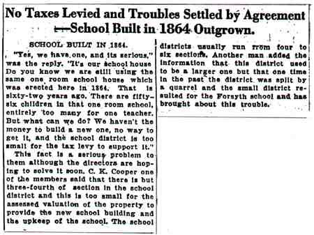 Article from Herald & Review, July 10, 1926
