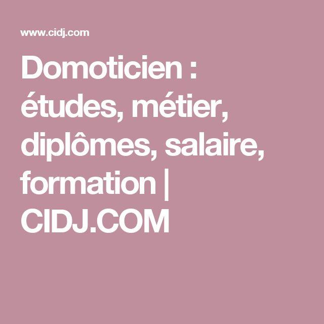 Domoticien : études, métier, diplômes, salaire, formation | CIDJ.COM