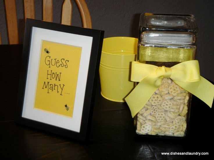 Bumble Bee Baby Shower Games | ... More To Life Than Dishes and Laundry...: Bumble Bee Themed Baby Shower