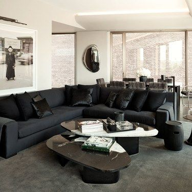 Best 25+ Black living room furniture ideas on Pinterest ...