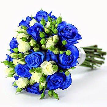 Blue Rose Bouquet