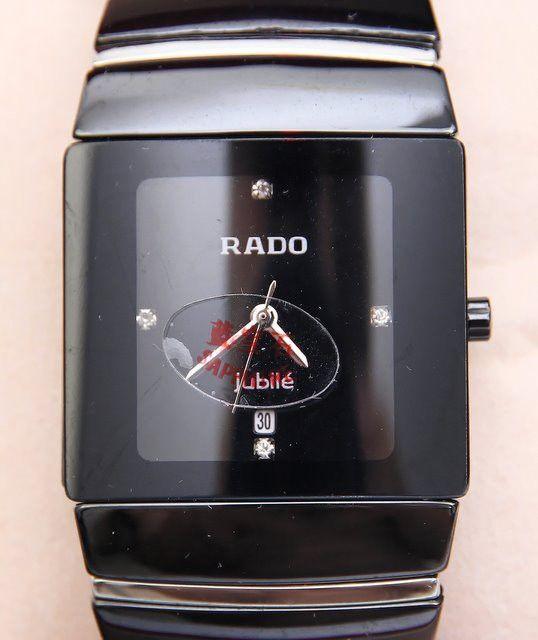 Часы Rado Jubile из высокотехнологичной керамики, сапфировое нецарапающееся стекло