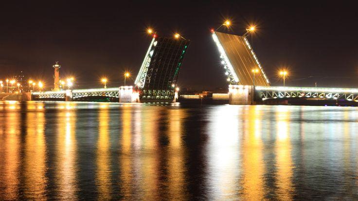 Palace Bridge Saint Petersburg - Russia