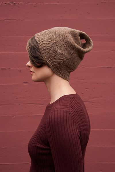 Shibui Pebble | Peak - Use this edge finish on scarves or a sweater?