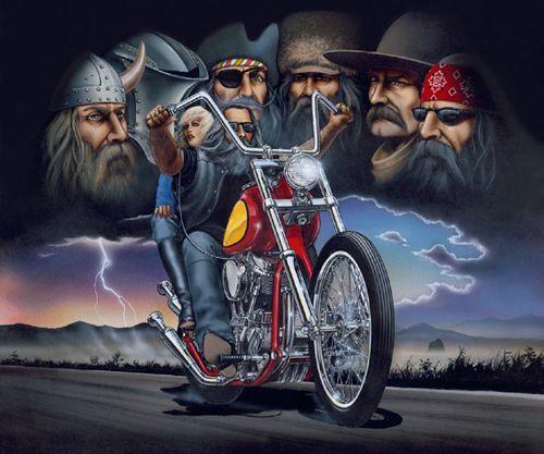 #bikers #around #biking #years #david #have