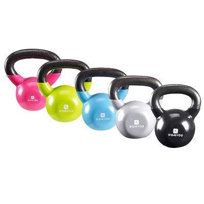 Аксессуары для йоги и фитнеса Фитнес, танцы - Гири Kettle bell DOMYOS - Силовые тренировки