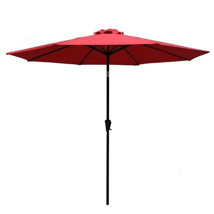 Direct Wicker Steel Market Umbrella-Beige