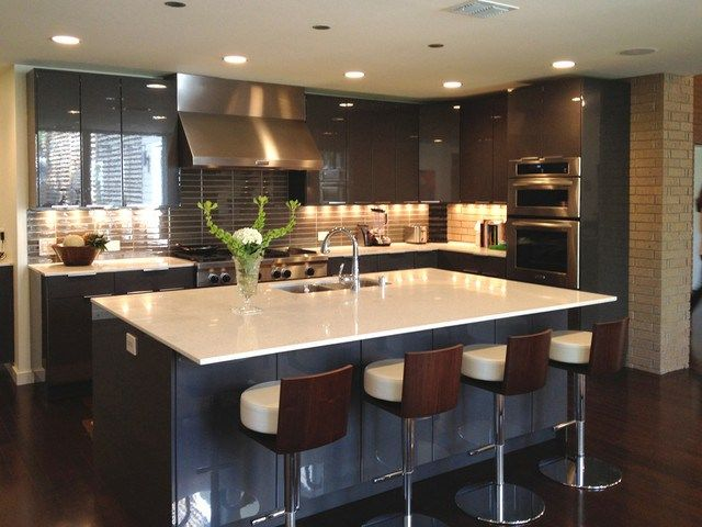 Contemporary Kitchens As Small Bathroom Ideas With A Delightful Home Design  Remodeling And Renovating Of Your Kitchen Minimalist Contemporary Kitchens  Ideas