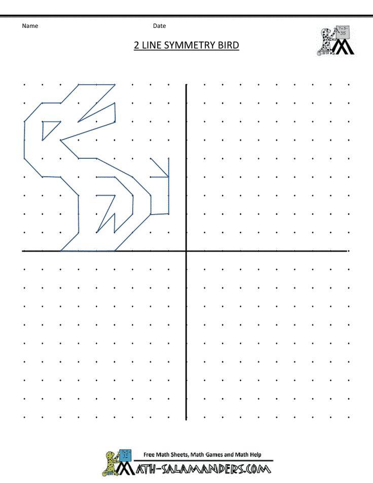 Visual Motor Visual Perception Activities Symmetry